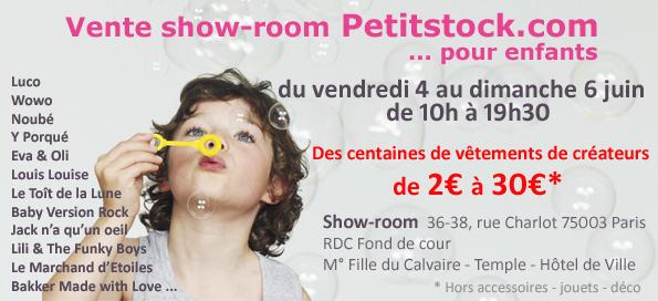 Vente show room JUIN