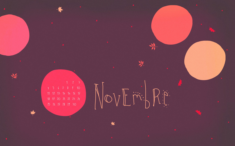 fond d'ecran gratuit novembre