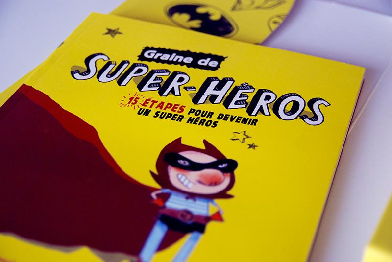 PAUSE LECTURE #GRAINE DE SUPER HÉRO