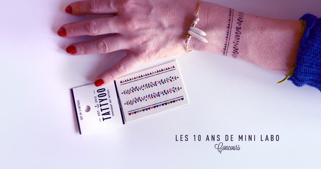 LES 10 ANS DE MINI-LABO (concours dedans)
