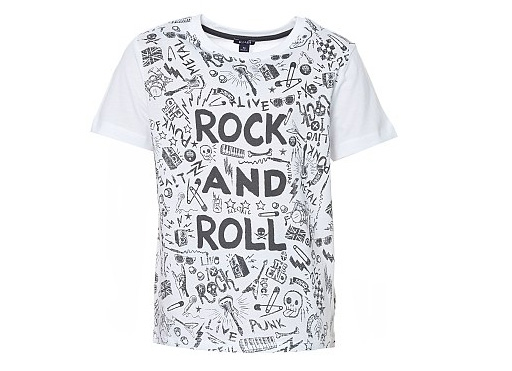 t-shirt rock Kiabi