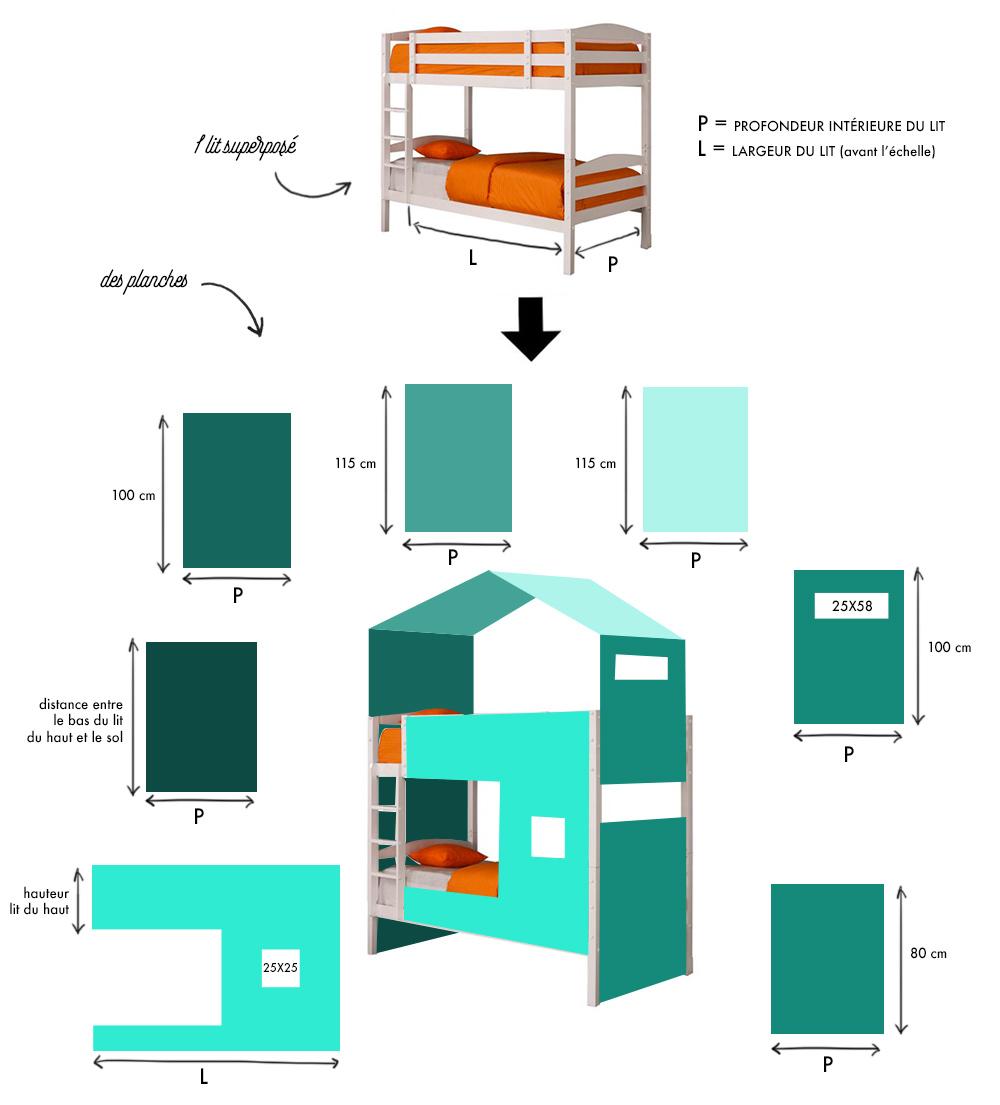 diy lit cabane free lit cabane diy gnialdiy lit cabane. Black Bedroom Furniture Sets. Home Design Ideas