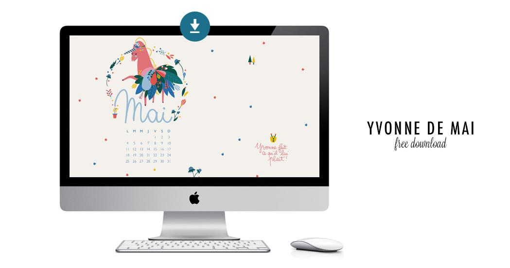 YVONNE DE MAI #free printable