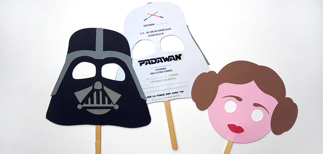 Super L'INVITATION STAR WARS #DIY | Minireyve VV85