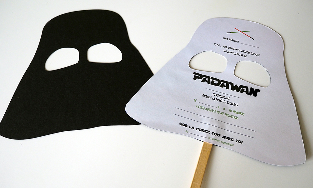 Populaire L'INVITATION STAR WARS #DIY | Minireyve JH31