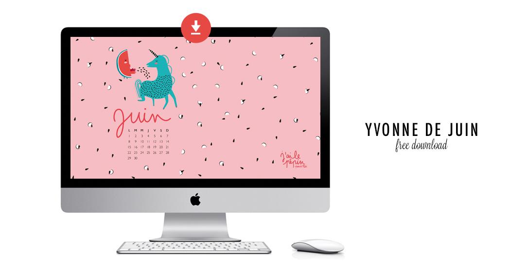 YVONNE DE JUIN #free printable
