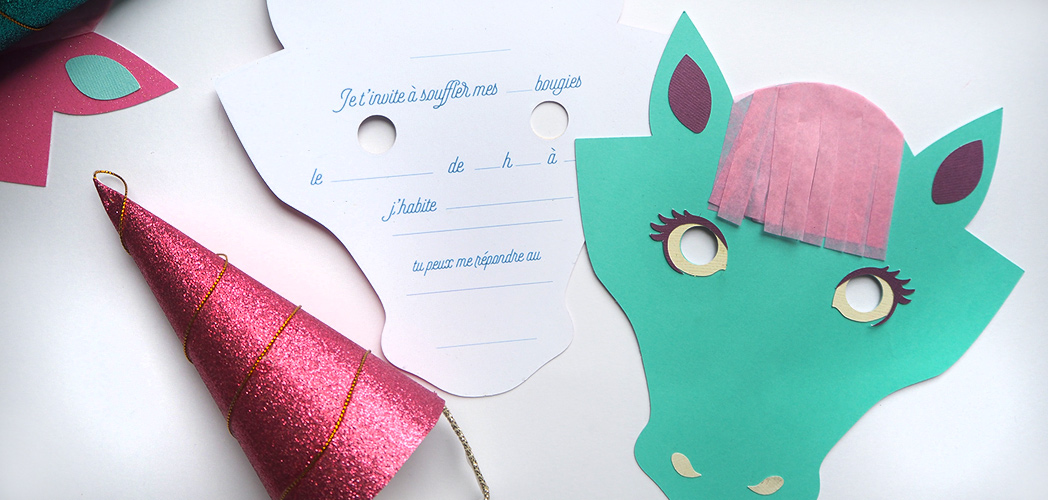 L'INVITATION LICORNE #printable