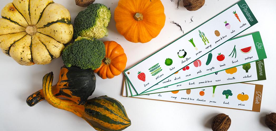 Manger des fruits et l gumes de saison printable offert minireyve - Legumes de saison decembre ...