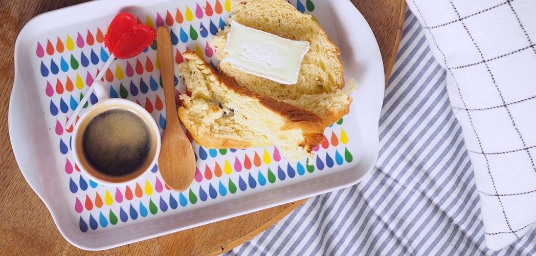 un café et du fromage