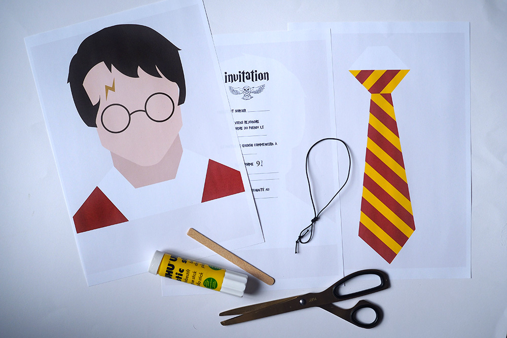 Favorit L'INVITATION HARRY POTTER | Minireyve LP93