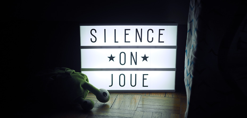 SILENCE ON JOUE #concours dedans