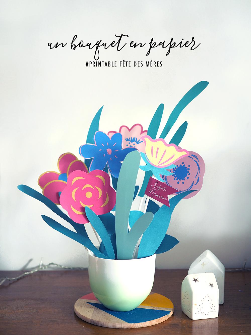 bouquet-papier