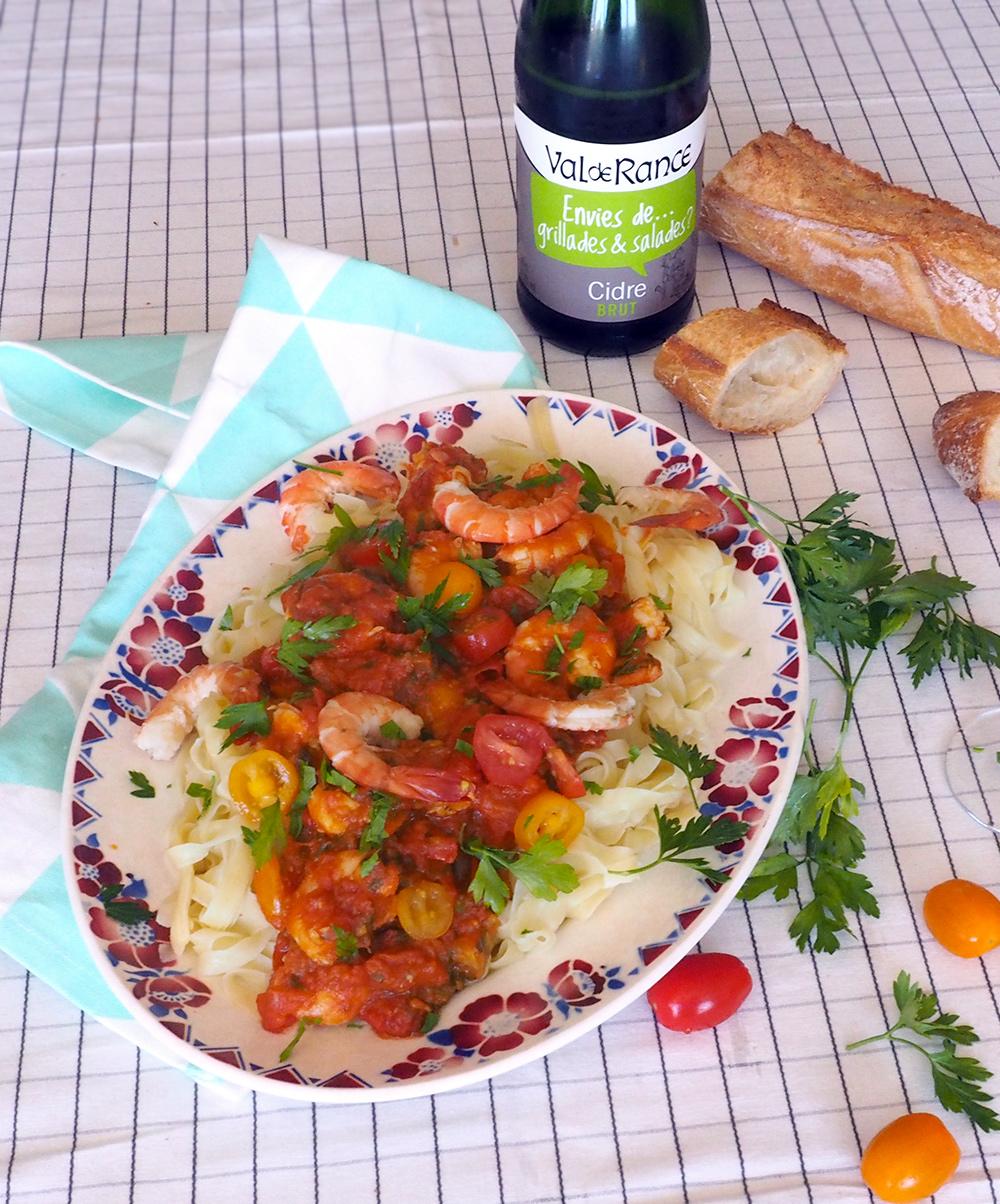recette-pates-crevette-tomates-02