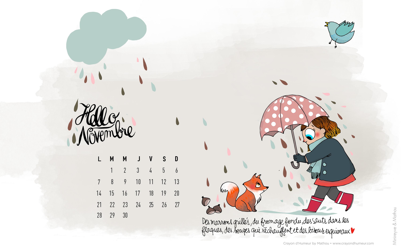 Hello Novembre Avec Mathou Minireyveminireyve