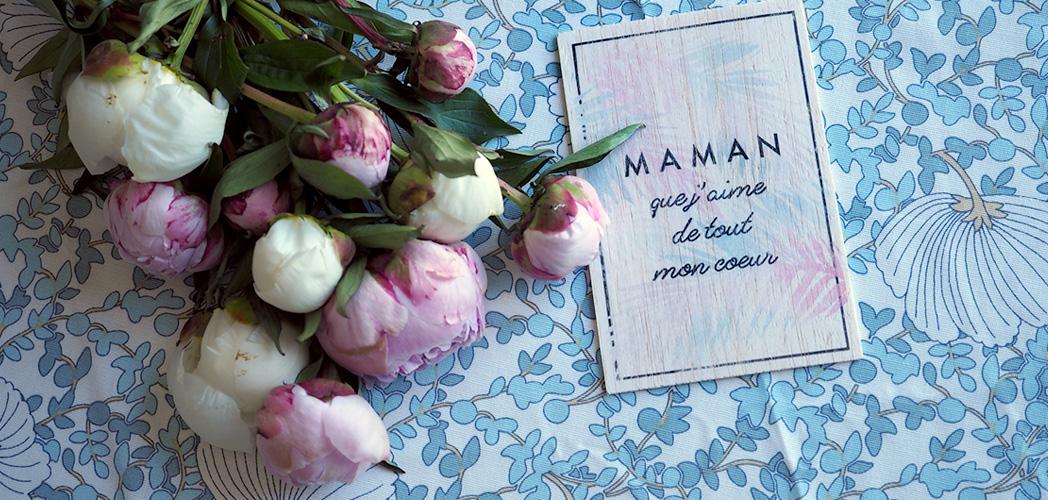 MAMAN D'AMOUR ou MAMAN INCROYABLE # impression sur bois