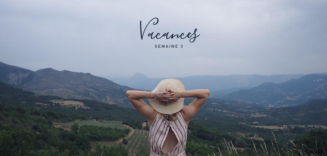 VACANCES SEMAINE 3