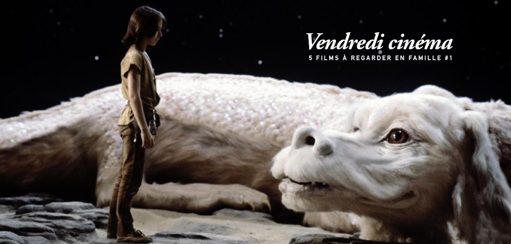 VENDREDI CINÉMA, 5 FILMS A REGARDER EN FAMILLE #1