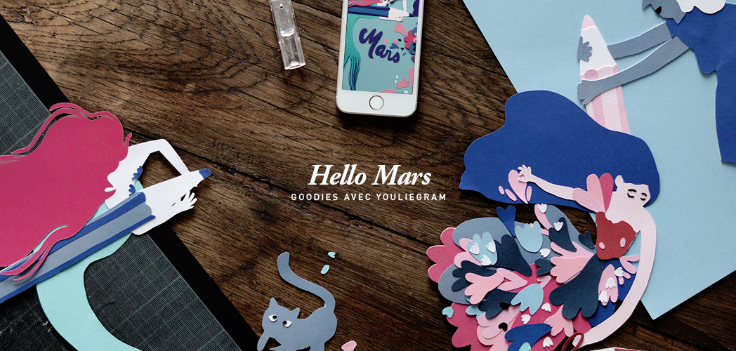 HELLO MARS AVEC YOULIEDESSINE