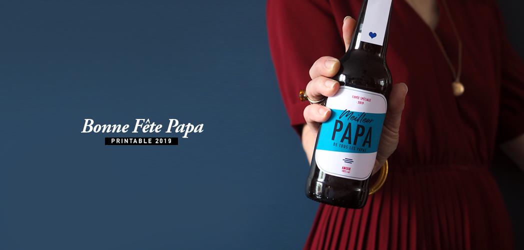 BONNE FÊTE PAPA #printable