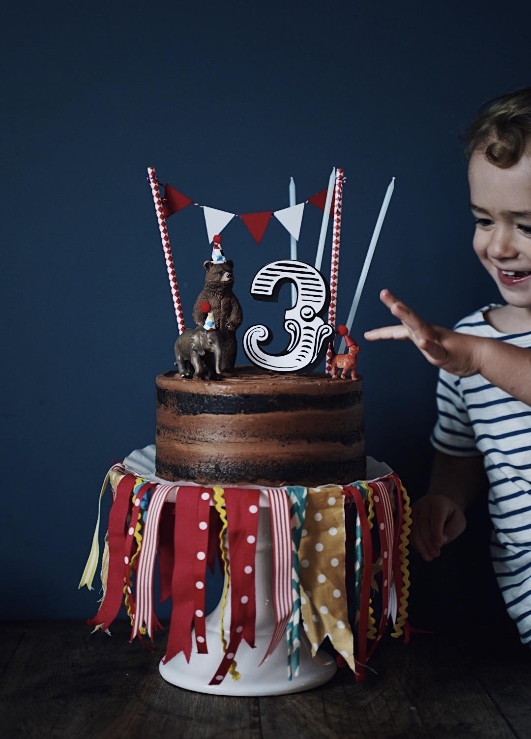 gâteau anniversaire fête foraine