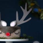 Le gâteau de Noël renne