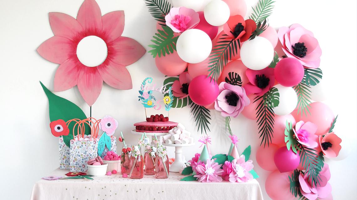 Une fête fleurs !