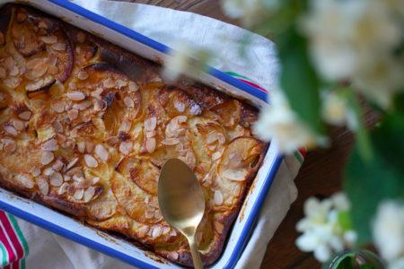 Clafoutis aux pommes facile