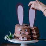 Le gâteau lapin de pâques